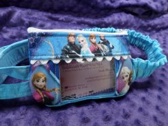 Ice Queen Window Insulin Pump Pouch Case W/ Anna Elsa