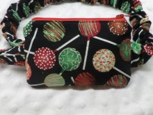 Fun Holiday Insulin Pump Pouch Case with Cakepops