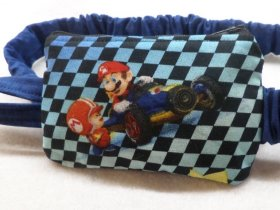 Gaming Go Kart Insulin Pump Pouch Case For Boys
