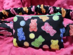 Glittery Gummy Bears Insulin Pump Pouch For Children