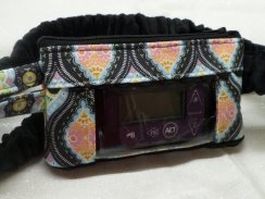 Paige Ogee Insulin Pump Pouch Optional Window