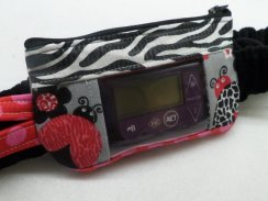 Animal Print Lady Bugs Window Insulin Pump Pouch For Girls