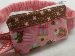 Cherry on Top Cupcake Insulin Pump Pouch Case