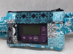 Cherish Medallions Insulin Pump Pouch For Girls