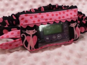 Bling Kitty Window Insulin Pump Pouch For Girls