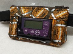 Football Insulin Pump Pouch with Window for Sports