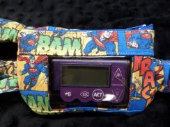 Superman Window Insulin Pump Pouch Case For Boys