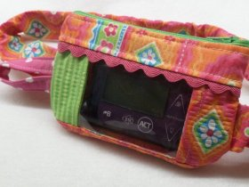 Insulin Pump Case in Gypsy Wave Floral