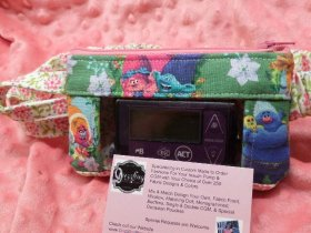 Trolls2 Insulin Pump Case with Optional Window