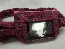Paisley Passion Raspberry Fuschia & Mint Cord Insulin Pump Pouch
