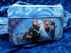 Ice Queen 2 Insulin Pump Pouch Case Elsa Anna
