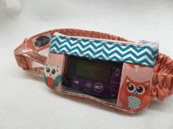 Owls Window Insulin Pump Pouch Case