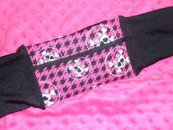 Monster High Glam Skullbone Insulin Pump Pouch Band