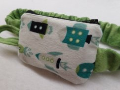 Rocketships Insulin Pump Pouch Case For Boys