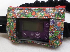 Gaming Mix Up Insulin Pump Pouch Case For Kids