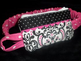 Chic Damask Insulin Pump Pouch Design Your Own