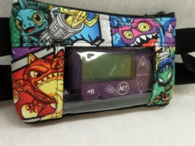 Skylanders Window Insulin Pump Pouch Case| Boys Pump Pouch