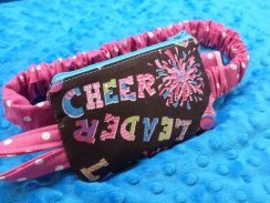 Cheerleading Insulin Pump Pouch Case for Sports
