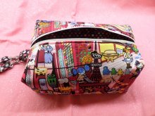Harajuku Girl Invade NYC Box Pouch Wristlet Diabetes Supply Case