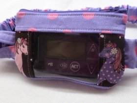 Sweet Ponies Insulin Pump Pouch with Window
