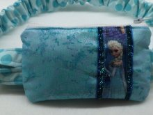 Fairy Frost Elsa Insulin Pump Pouch Case w/ Princess in Turquois