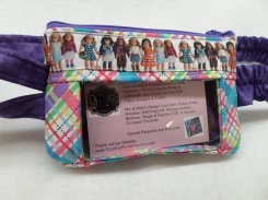 American Girl Window Insulin Pump Pouch For Girls