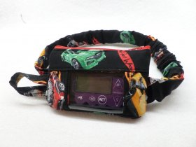 Window Insulin Pump Pouch with Hot Wheels| Boys Pump Pouch