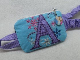 "Letter ""A"" Anna Elsa Princess Insulin Pump Pouch Case"