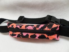 Mystique Slim Fit Cheetah Shimmer Insulin Pump Belt Spandex