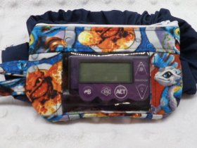 Insulin Pump Case with Skylanders Characters