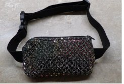 Dressy Insulin Pump Pouch w/Sequin Dot Special Occassion