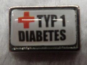 Type 1 Diabetes Charm for Floating Locket