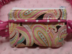Pretty in Paisley Insulin Pump Pouch Case