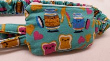 PB&J Insulin Pump Pouch Case in Flannel