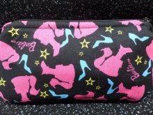 Insulin Pump Pouch Case w/Barbie Silhouettes For Toddlers & Girl