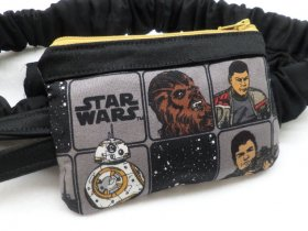 Star Wars The Force Awakens 2 Insulin Pump Pouch